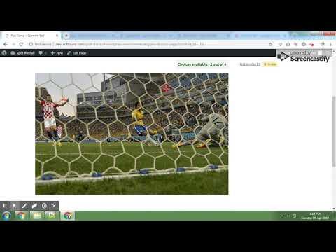 Spot The Ball Plugin - WordPress WooCommerce thumbnail