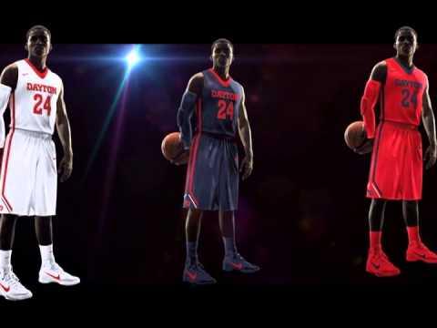 sports shoes 1976a d9add Dayton Basketball New Uniform Reveal