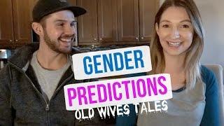 gender prediction tests   old wives tales