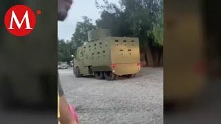Aseguran vehículos blindados del Cártel Jalisco Nueva Generación