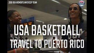USA BASKETBALL TRAVELS TO PUERTO RICO // OFFCOURT