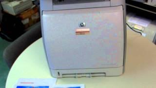 HP Color LaserJet CM1015 MFP Demo Unit