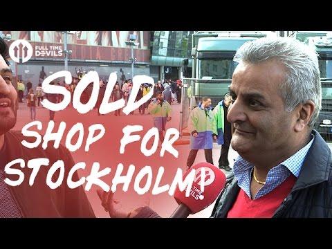 Sold Shop For Stockholm! | Arsenal 2-0 Manchester United | FANCAM