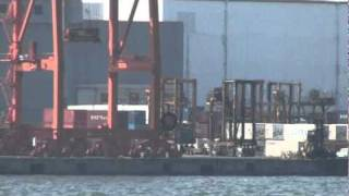 Tokyo port operations seen from the Odaiba harbor side - Sefco Japan 3m (2010)