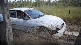 BUSH BASHING A HOLDEN COMMODORE - River Crossing Special
