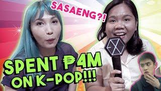 FAN SPENDS 4 MILLION PESOS ON K-POP