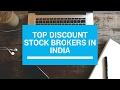 Top 5 Discount Brokers in India