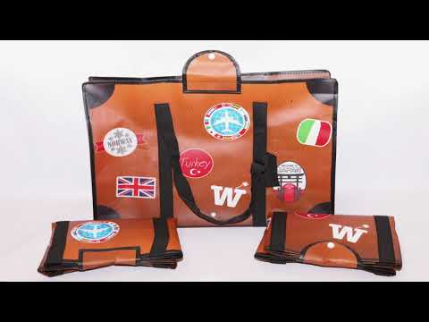 WISSHH Travel Bag - Extra space when needed