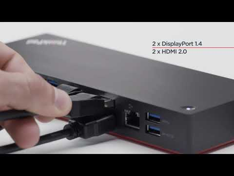 40AN0135EU, Lenovo Campus ThinkPad Thunderbolt™ 3 Dock (2