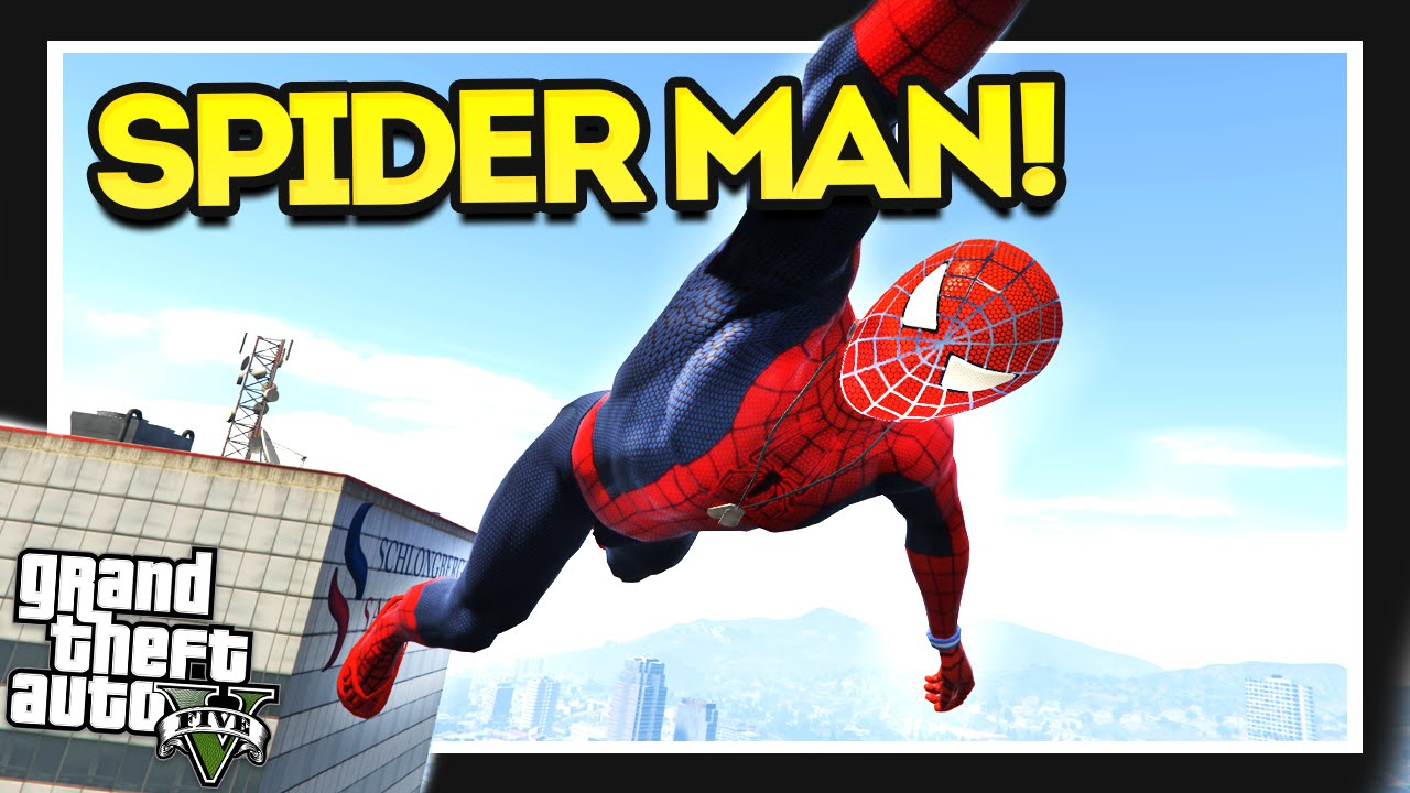 The ULTIMATE Spider Man Mod! GTA 5 Mods!