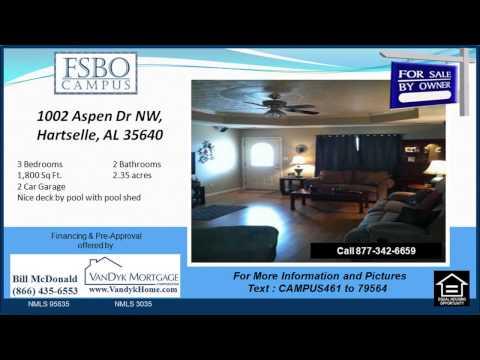 3 bedroom home for sale near Hartselle Junior High School in Hartselle AL