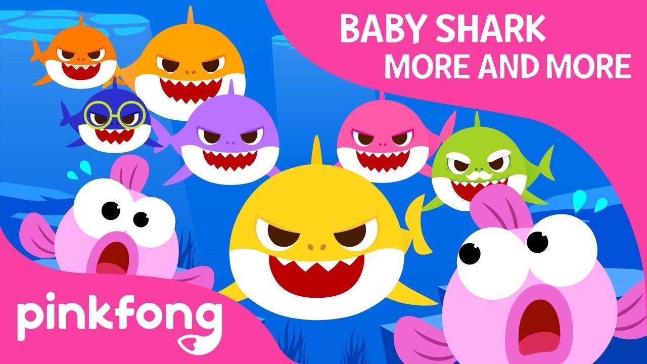 1e871bb7 Baby Shark More and More | Baby Shark | Shark Family | Pinkfong ...