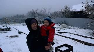 А вот и первый снег