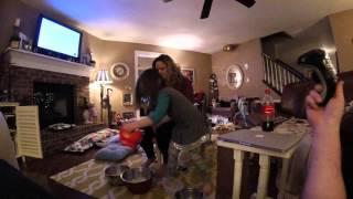 Hannah Puts Ice on her Mom's Feet thumbnail