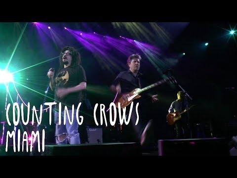 Counting Crows - Miami Live 2017 Summer Tour Thumbnail image
