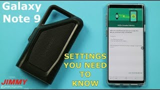Galaxy Note 9 - The 4 IMPORTANT Bluetooth Settings You Need To Know