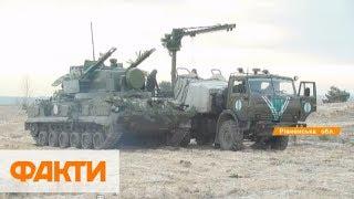 Военная техника и тренажеры: обучение резервистов с командованием Запад