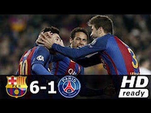 Download Barcelona vs Paris Saint Germain 6-1 All Goals & Highlights UCL 08.03.2017 HD