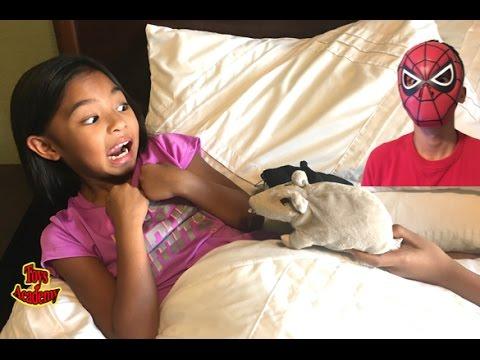 Spiderman Pranks Best Friend Ms K /Spiderman Transformation | Toys Academy