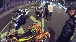 Остановил Мотобат, Yamaha Banshee 350, POLICE / stunt.