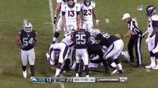 2016 afc west oakland raiders highlights