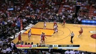 Marcin Gortat highlights Washington Wizards @ Miami Heat - 03.11.2013