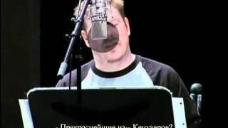 futurama voice in studio