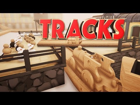 Wooden Toy Train Track Game! - Building the Best Model Train Ever! - Tracks Gameplay