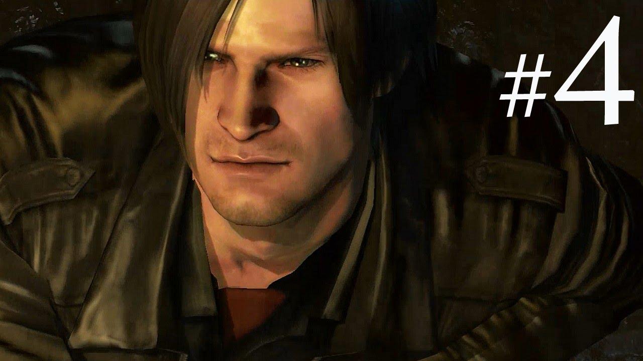 阿津 恐怖遊戲 惡靈古堡6 Resident Evil 6 里昂篇(4) 珍惜生命.遠離里昂 - YouTube