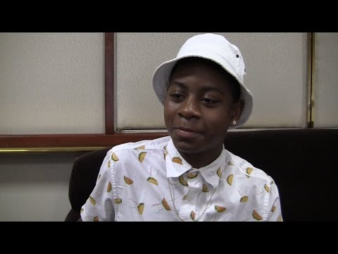 RJ Cyler 'Me and Earl and the Dying Girl' Interview