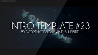 Free Blender Intro Template #23 | WorthyDesigns ft. BlueBird