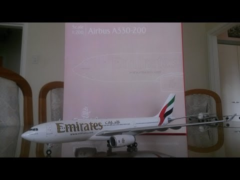 Gemini 200 Emirates A330-200 Unboxing and Review
