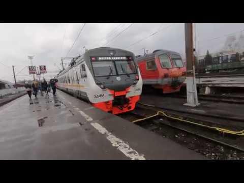 ЭД4М-0488, маршрут: Калуга-1 - Москва / Train ED4M-0488, Route: Kaluga-1 - Moscow