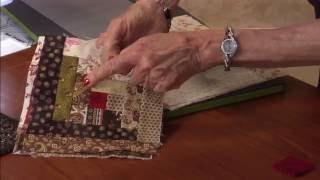 Lessons with Eleanor Burns - Using the Log Cabin Die