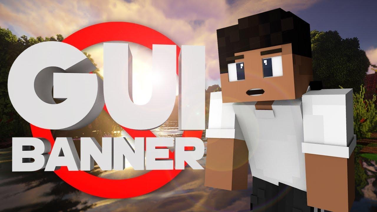 Gui Banner Plugin | Minecraft by DiamondRushXD