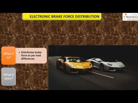 """Electronic Brake-force Distribution""(EBD)-Explanation- Twizards Automobiles"