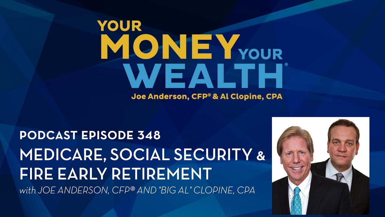 Download Medicare, Social Security, and FIRE Early Retirement - Your Money, Your Wealth® podcast 348