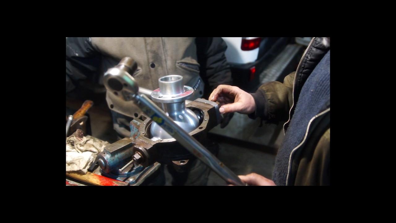 Инструкция по ремонту поворотного кулака Уаз Патриот.