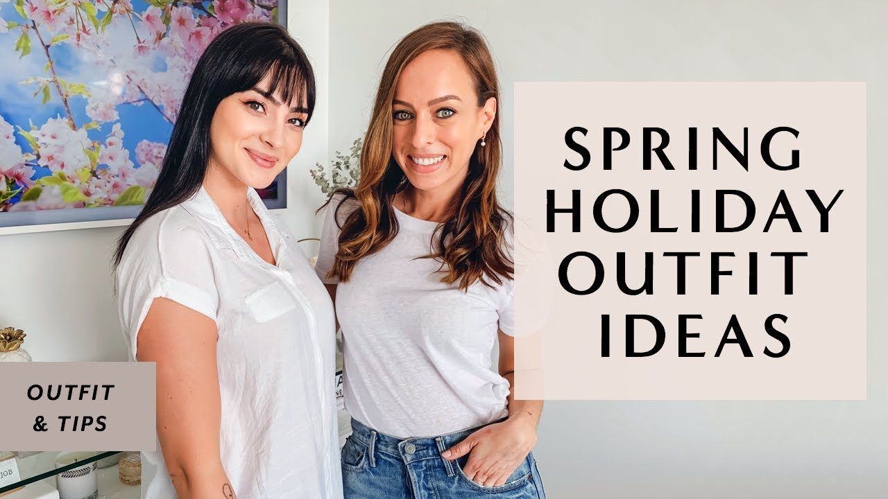 Easter Outfit Ideas with Andreea Cristina & Sydne Summer 2