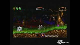 Ultimate Ghosts 'N Goblins Sony PSP Trailer