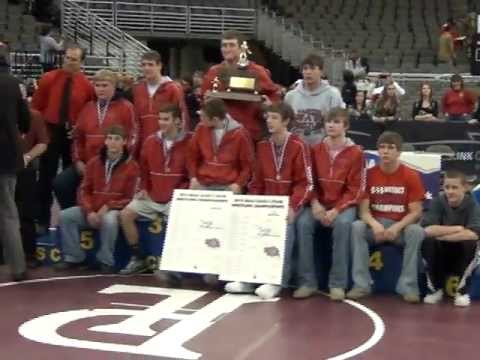 Valentine High School 2012 State Wrestling Trophy