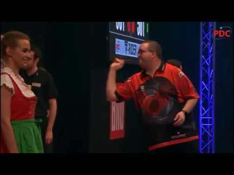 2019 German Darts Grand Prix Round 3  van Gerwen vs Bunting