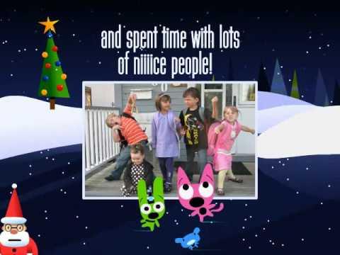 Hoops & YoYo Christmas Video Card