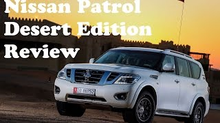 2016 Nissan Patrol Desert Edition First Drive In Liwa