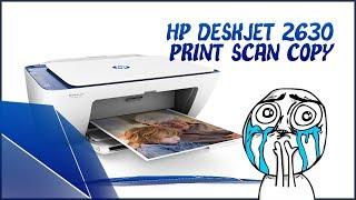 HP DeskJet 2630 All-in-One Printer (V1N03C) with Wireless