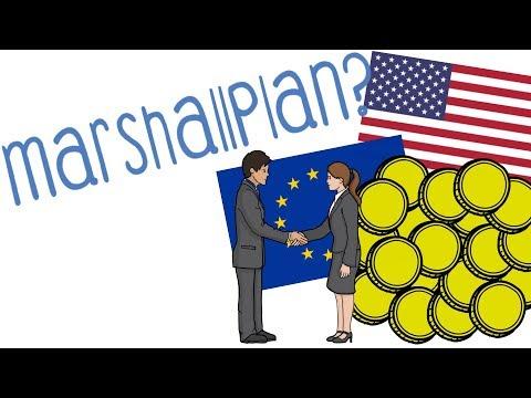 Marshallplan - einfach erklärt!