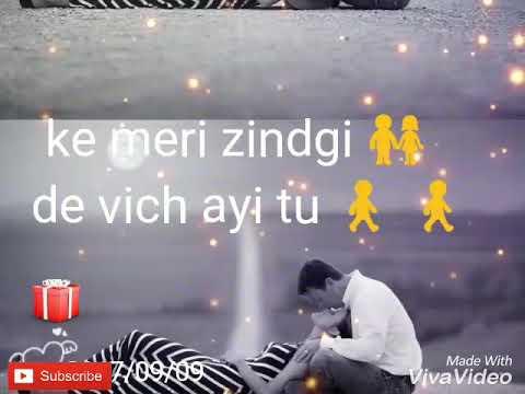 Tera naam song  by babbal rai ||Whatsapp status||