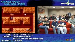 Awesome Games Done Quick 2013 - Blaster Master 2