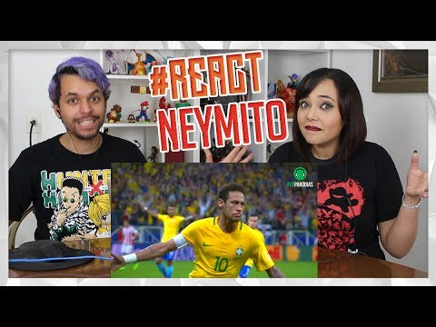 REACT ♫ É O NEYMITO   Paródia DESPACITO - Luis Fonsi, Daddy Yankee Ft. Justin Bieber (FutParódias)