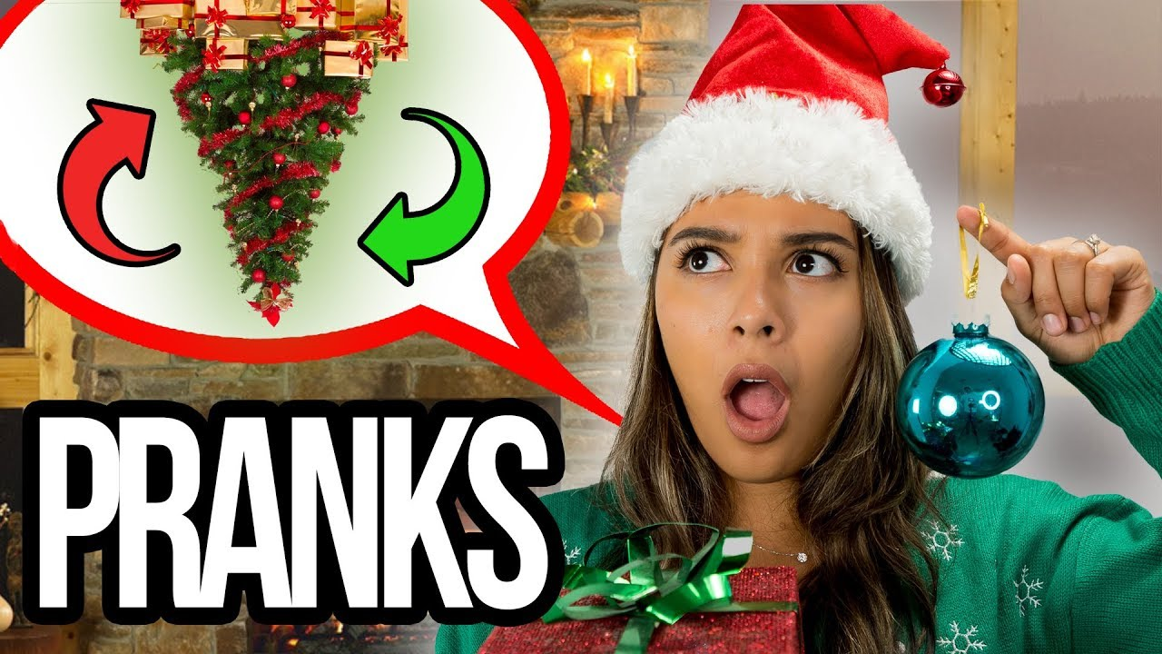 Christmas Pranks.Top Sibling Pranks Prank Wars Trick Your Siblings Friends Family Brother And Sister